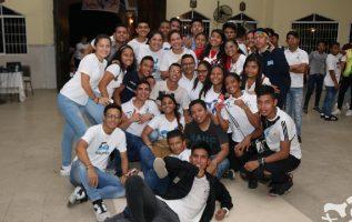 Mes a mes, jóvenes panameños se unen en oración por la Jornada Mundial de la Juventud. Cortesía