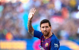 Lionel Messi Foto EFE
