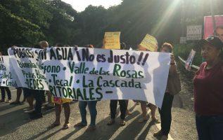 Más de 14 comunidades sin agua en Arraiján. Foto/Cortesía